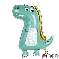 Фольгированный шар 34 Pinan Динозавр в упаковке, 86 см