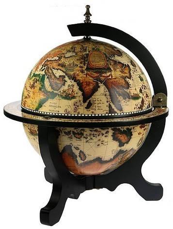 """Глобус бар настільний """"Світ на столі"""" 33040 W-B, фото 2"""