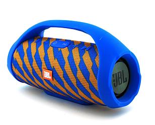 Портативна колонка JBL Mini Boombox (Синьо-Жовта)