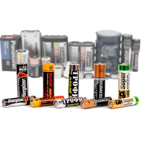 Батарейки стандартных типов | Элементы питания