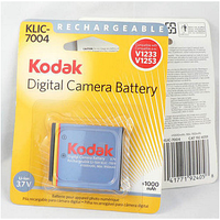 Аккумулятор Kodak KLIC-7004 для EasyShare M1033 | M1093 IS | V1073 | V1233 | V1253 | V1273