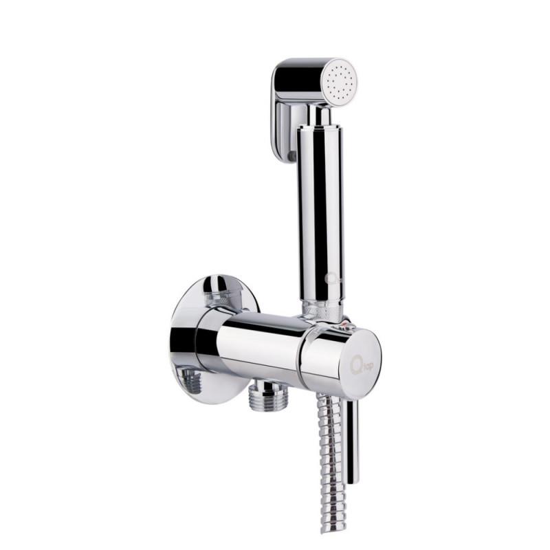 Набор для гигиенического душа со смесителем Q-tap Inspai-Varius CRM V00440001