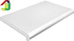 Подоконник Plastolit Белый Глянец 100 мм термостойкое покрытие, влагостойкий, устойчивый к царапинам, для окон