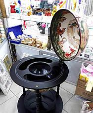 Глобус - бар напольный d=45см 45001 W-B, фото 3
