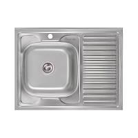Кухонная мойка Imperial 6080-L Polish (IMP6080L06POL), фото 1