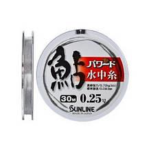 Леска Sunline Powerd Ayu 30m #0.3/0.09mm 0.86kg