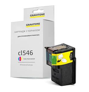 Совместимый картридж Canon CL-546 XL для Canon Pixma MG2450, MG2550S, MG2555S, iP2850 аналог от Gravitone