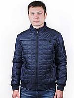 Куртка мужская стеганая демисезонная короткая под резинку Danstar