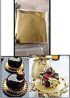 сусальное золото кондитерское в Украине 9*9 см 1 лист