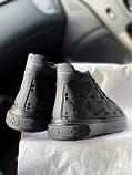 Стильные женские кроссовки Луи Виттон кожанные (Louis Vuitton), фото 5