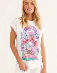 Футболка женская Electric magic, белый Berni Fashion (S)