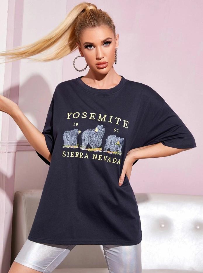 Футболка женская Yosemite Berni Fashion (One Size)