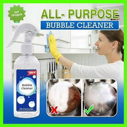 Ручной пенный опрыскиватель, многоцелевой пенный очиститель BUBBLE CLEANER, фото 2