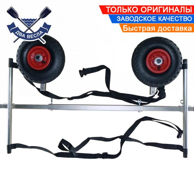 Тележка для лодок до 170 кг Univ-Poly тележка колеса для лодки надувной проколобезопасные, клиренс 30 см