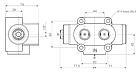 """Клапан потоконаправляющий 3/2-250L-350B-PO-3/4""""-00 HYVA, фото 2"""
