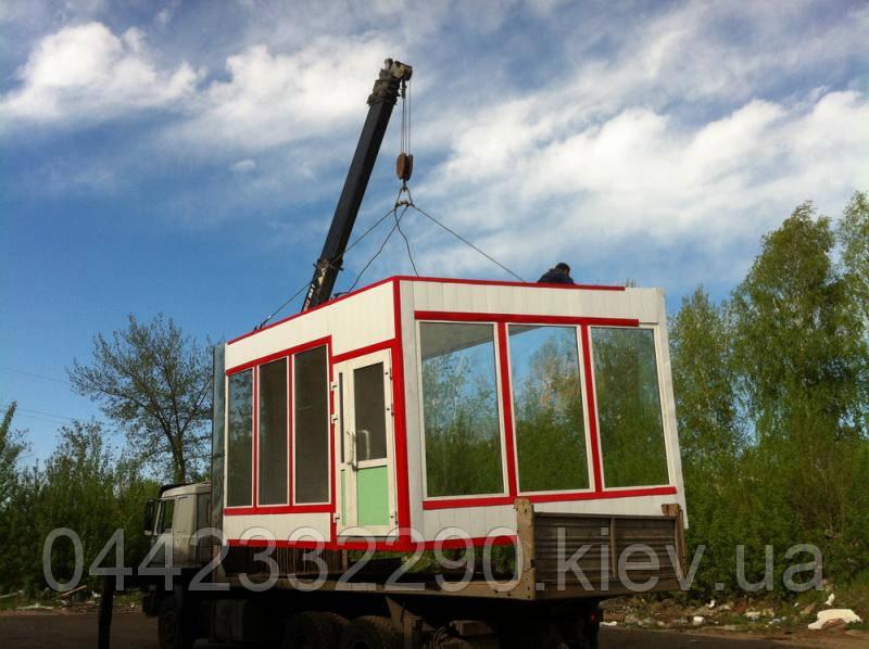 Услуги по перевозкам киосков, ларьков, павильонов в Украине