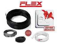 В стяжку під плитку нагрівальний кабель ефективний обігрів FLEX EHC .3,5 м.кв (612.5 вт) Серія RTC 70.26
