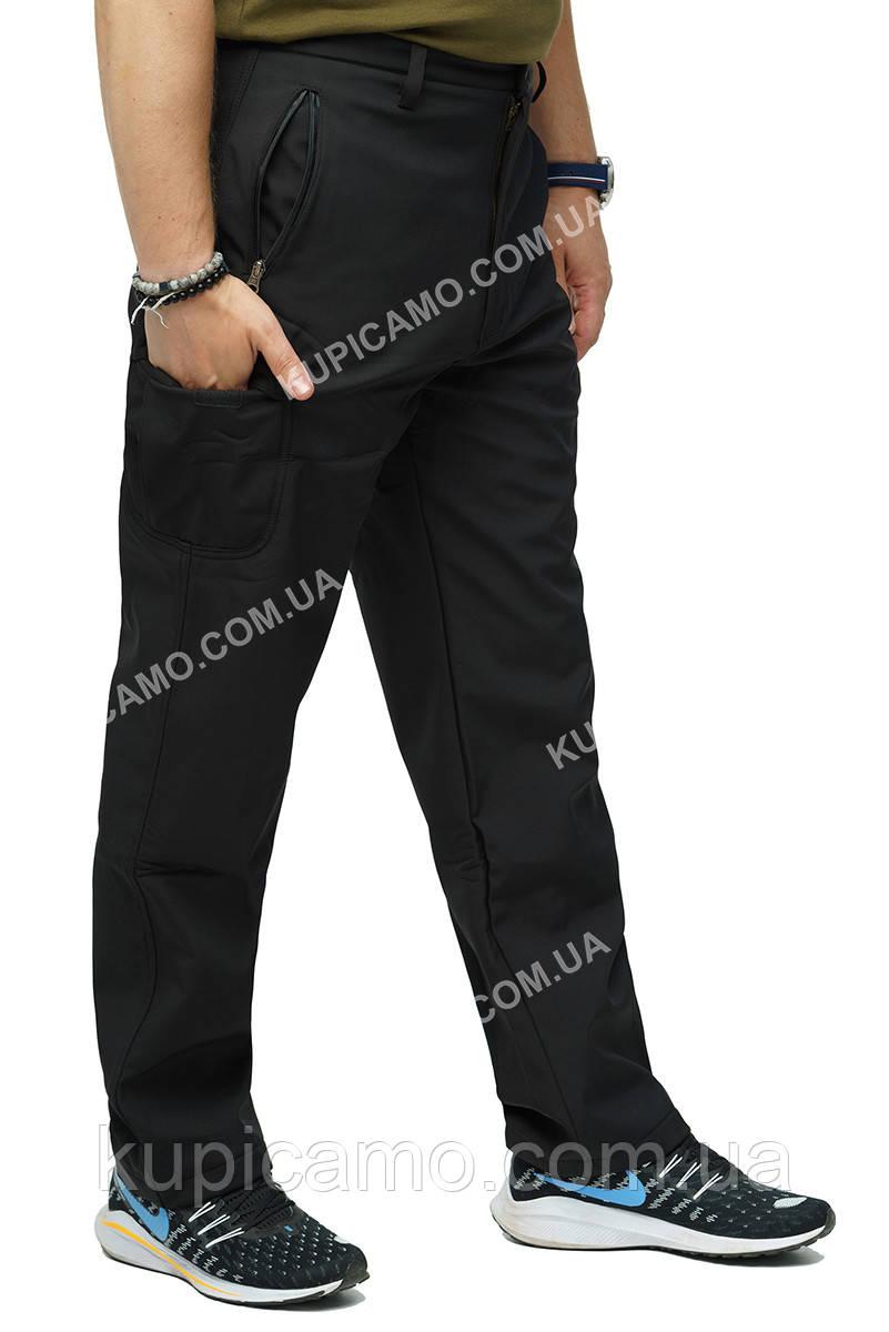 """Тактические брюки """"Soft Shell"""" черный"""