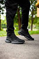 Чоловічі чорні кросівки дуже стильні 44,45,46 розмір
