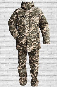 Зимняя военная форма Пиксель, костюм камуфляжный зимний (50,52,54,56,...р)