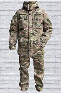 Зимний армейский костюм Мультикам, костюм камуфляжный (48,50,52,54)