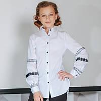 Блуза с имитацией вышиванки