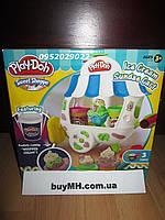 Пластилин Плей До Вагончик мороженого A2106 Play-Doh Sweet Shoppe Ice Cream Sundae Cart