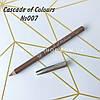 Восковой карандаш для бровей Cascade of Colours 007
