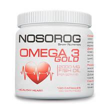 Жирные кислоты NOSOROG Nutrition Omega 3 Gold 180 caps