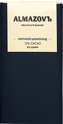 Черный шоколад Almazovъ (80 грамм)