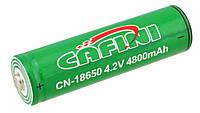 Аккумулятор Li-ion Cafini 4.2V 18650 4800 mah Green