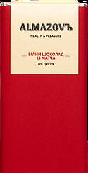 Белый шоколад Almazovъ  с Матчей  (80 грамм)