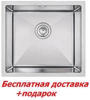 Мойка для кухни из нержавеющей стали чёрная Imperial D4843 Handmade (Хендмейд)