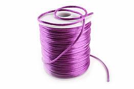Канат - шнурок для декора и рукоделия, фиолетовый