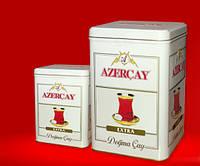 Черный чай с ароматом бергамота Азерчай Extra 250 гр железная банка