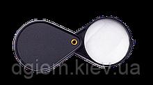 Лупа діаметр 50мм 4-х кратна складна BM.4304