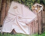 Нарядный конверт, одеяло для новорожденного, осень/зима, фото 2