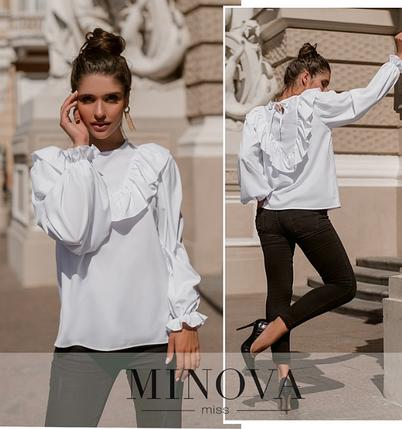 Белая рубашка женская Размеры : 42-44, 46-48, фото 2