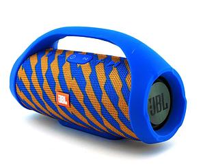 Портативная колонка JBL Boombox Mini (Сине-Желтая)