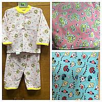 Детские пижамы байковые для малышей, фото 1