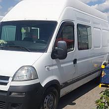 Дефлектори вікон (вітровики) Renault MASTER/MASCOT 1999-2010 2шт (HIC)