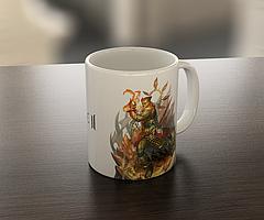 Кружка чашка Орк Lineage II