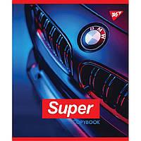 """Тетрадь для записей А5/48 кл. YES """"SUPER CAR"""" иридиум+УФ.спл."""