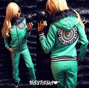 Женский спортивный костюм с начесом норма и батал , фото 2