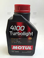 Масло моторное Motul 4100 Turbolight SAE 10W40 (1L)
