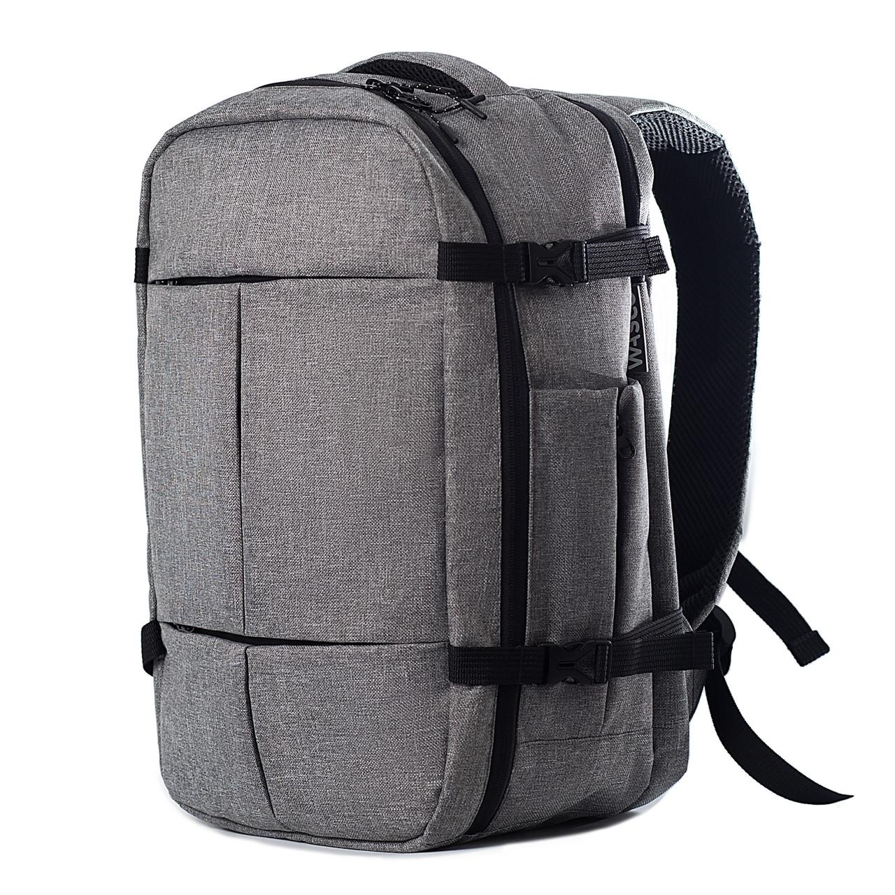 Рюкзак для ручной клади Wasco 40x25x20 Ben Fly Серый