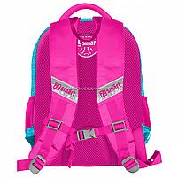 Рюкзак шкільний SMART SM-02 OwlsSmart рожевий (558180), фото 2