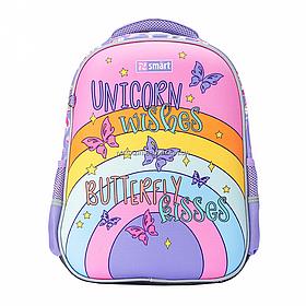 Рюкзак шкільний SMART SM-02 UnicornSmart бузковий (558183)