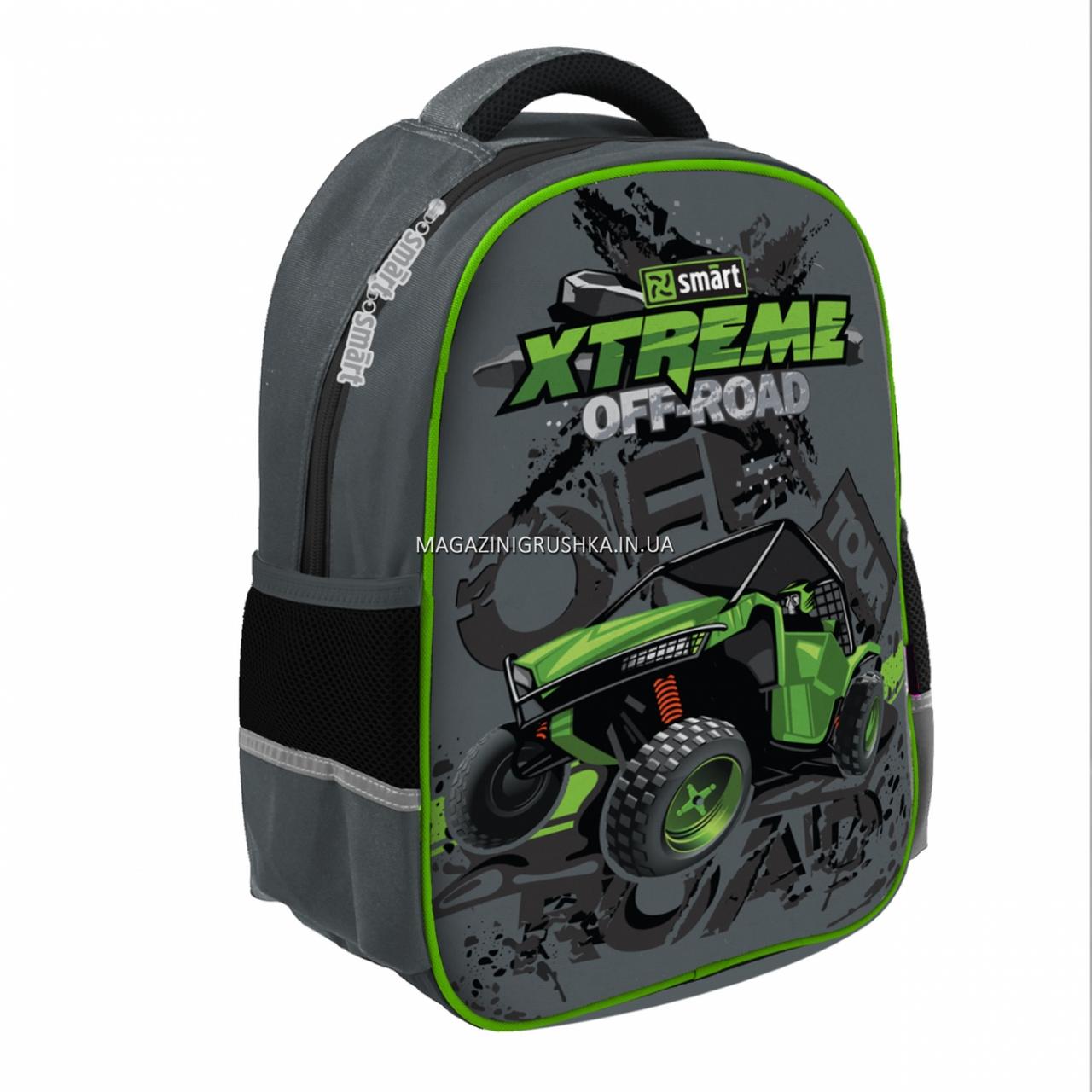 Рюкзак шкільний SMART SM-02 X-Treme Smart чорний (558186)