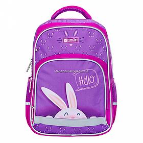 Рюкзак шкільний SMART SM-04 HelloSmart фіолетовий (558182)